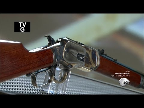 How It's Made - Lever Action Rifles - Uberti 1873 Short Rifle - HD
