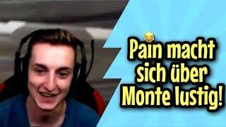 PAIN macht sich über MONTE LUSTIG I PAIN STREAM Highlights