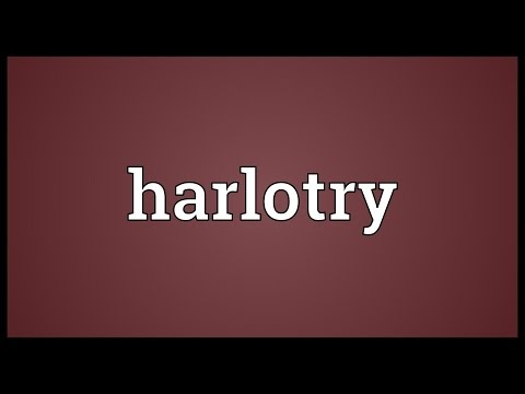 Header of harlotry
