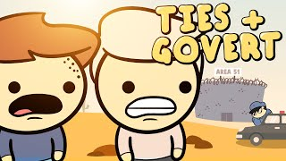 TIES en GOVERT in AREA 51 | Animatie