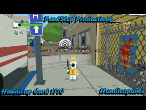 All Handicapped Placard Lacations (Handicapable) - Family Guy Back To The Multiverse