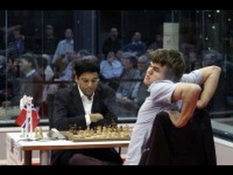 Anand ajedrez, Carlsen Anand Bilbao 2012 - Magnus Carlsen gana a Anand en Bilbao chess masters 2012