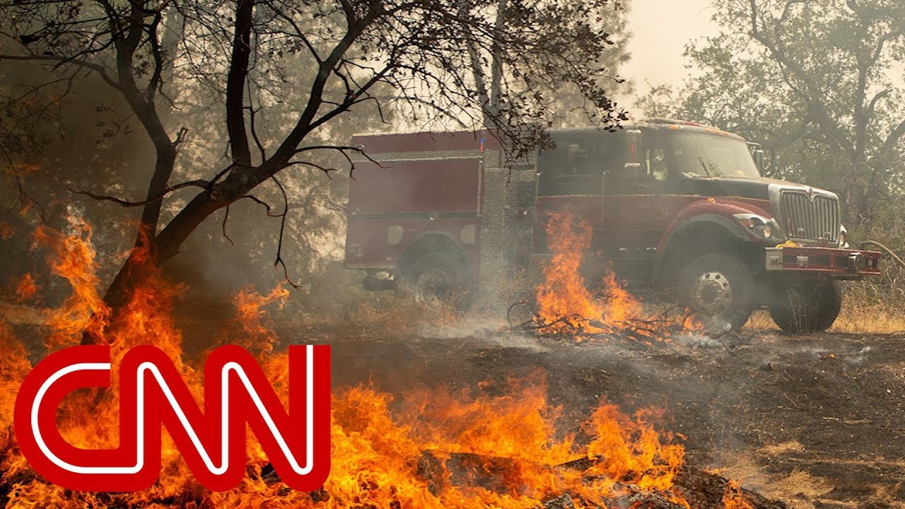 Firefighters battle deadly California wildfire