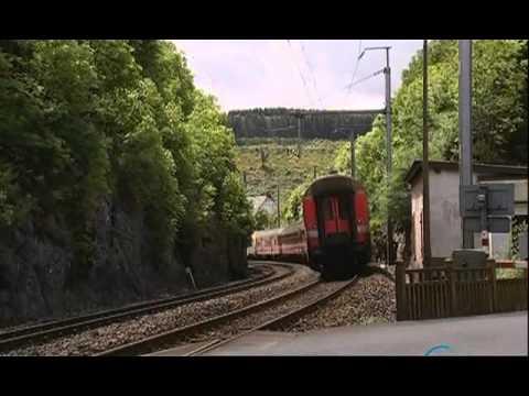 Железные дороги мира. Люксембург. Бельгия