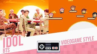 IDOL, BTS - Videogame Style - 8 bits