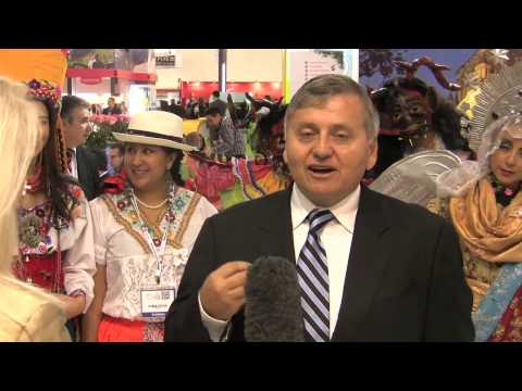 Patricio Tamariz, Executive Director, Ecuador Tourism Authority - Unravel Travel TV