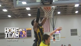 Ben Simmons Goes Baseline And Dunks On Defender!! Highlights from Montverde vs Tampa Catholic