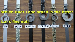 Which Duct Tape Brand is the Best?  Let