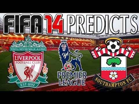 Liverpool vs Southampton (2-1) | FIFA 14 Prediction (17/08/2014)