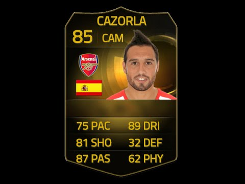 FIFA 15 IF SANTI CAZORLA 85 Player Review & In Game Stats Ultimate Team