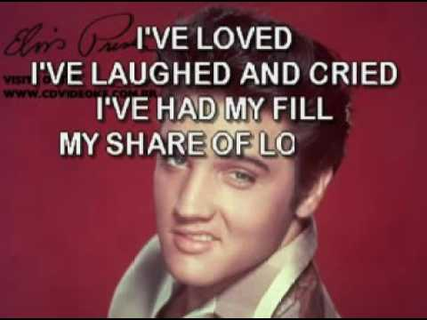 Elvis Presley   My Way Live