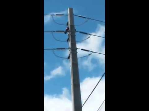 UFO filmado durante Acidente do trabalho