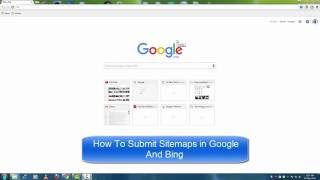 How To Submit Sitemaps to Google Webmaster Tools and Bing