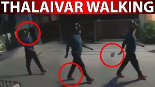 Rajinikanth Mass Walking In Midnight