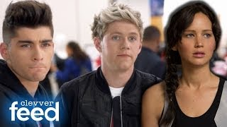One Direction's Funny Macy's Commercial & Miley Cyrus' Tattoo Flashback