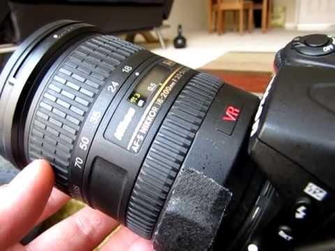 Nikon 18-200mm VR lens issue