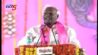 Kadiyam Srihari Speech at TRS Pragati Nivedana Sabha | Warangal