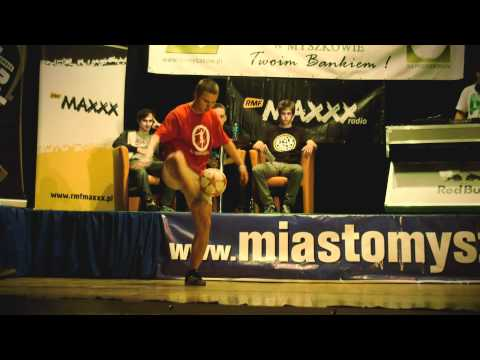 Polish Championship Freestyle Football - Myszków 2011