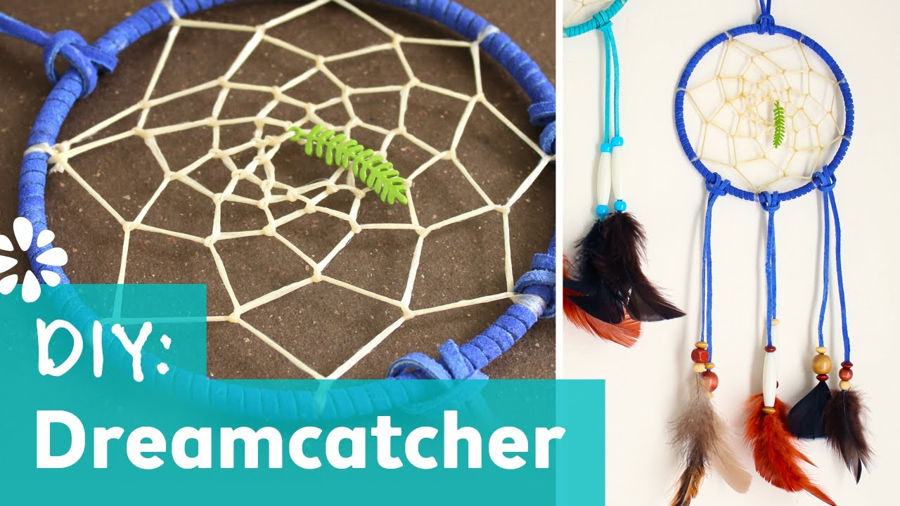 How to make a dreamcatcher youtube for How to make dream catchers easy