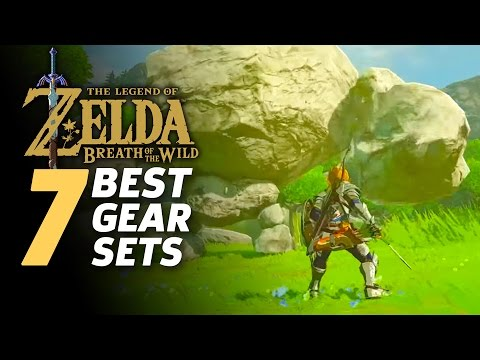 The 7 Best Armor Sets in Zelda: Breath Of The Wild