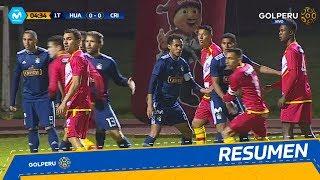 Resumen: Sport Huancayo vs. Sporting Cristal (1-1)