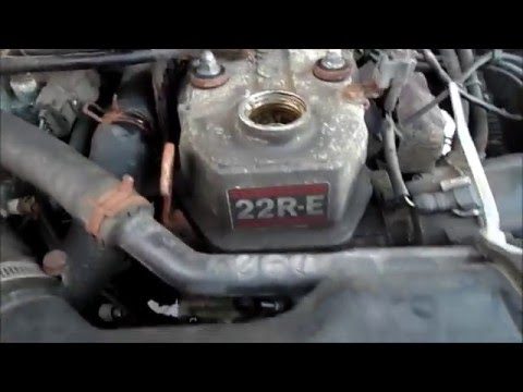 1993 Toyota 22RE. Needs A Timing Chain. + Other Work In Progress