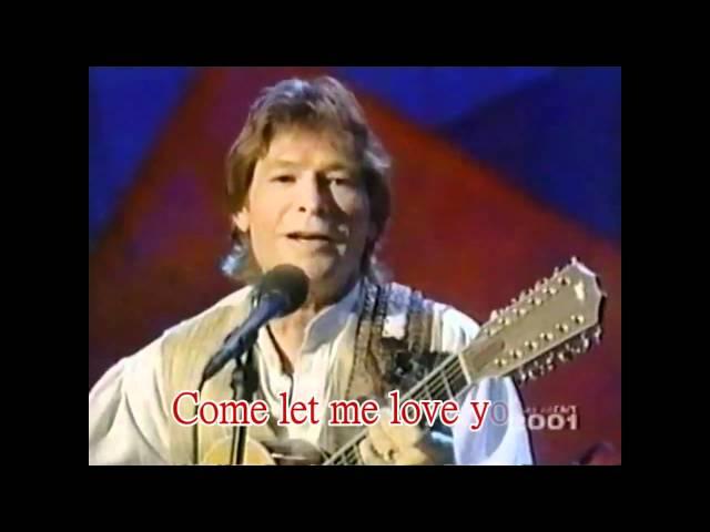 John Denver Annie's Song Karaoke (HD)