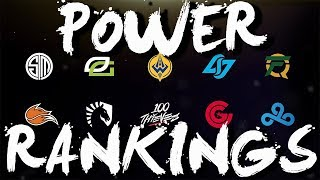 NA LCS Power Rankings 2019 Spring Split