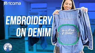 Embroidery on Denim Jackets! | (Embroidery Hub Ep110)