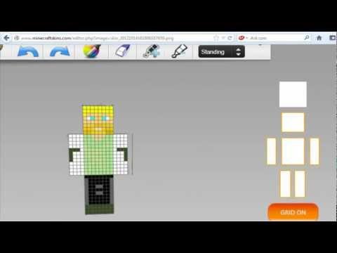 Minecraft   Como hacer un Skin para MINECRAFT