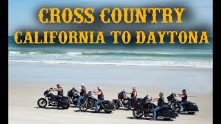 Motorcycle Trip - California to Daytona Beach Bike Week