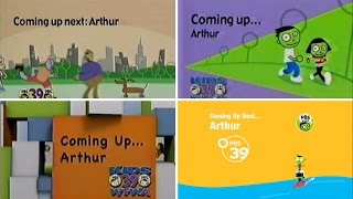 PBS Kids Schedule Bumper Compilation - Arthur (WFWA 2002-2016)