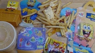Happy Meal SpongeBob from McDonald