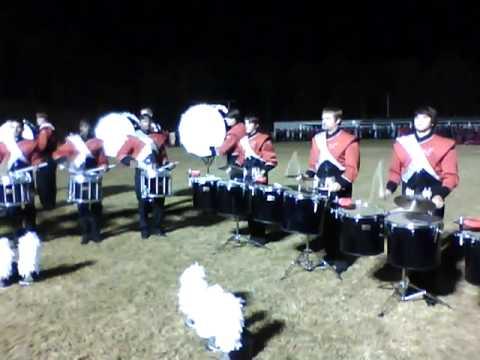 JSU Drumline 2010- Accent Tap