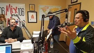 Carlos Mencia in Boise on Mix 106