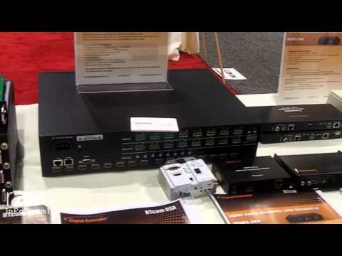 InfoComm 2014: RTcom USA Details the Credenza Series Digital Extender