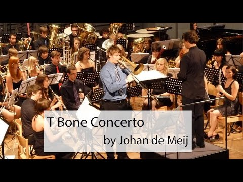 Peter Steiner - Trombone - T Bone Concerto (2 and 3 Movement) by Johan de Meij