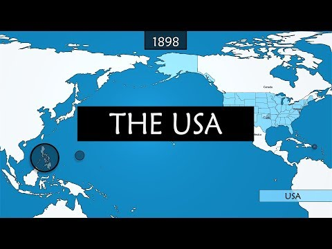 The United States of America - summary of the country39s history
