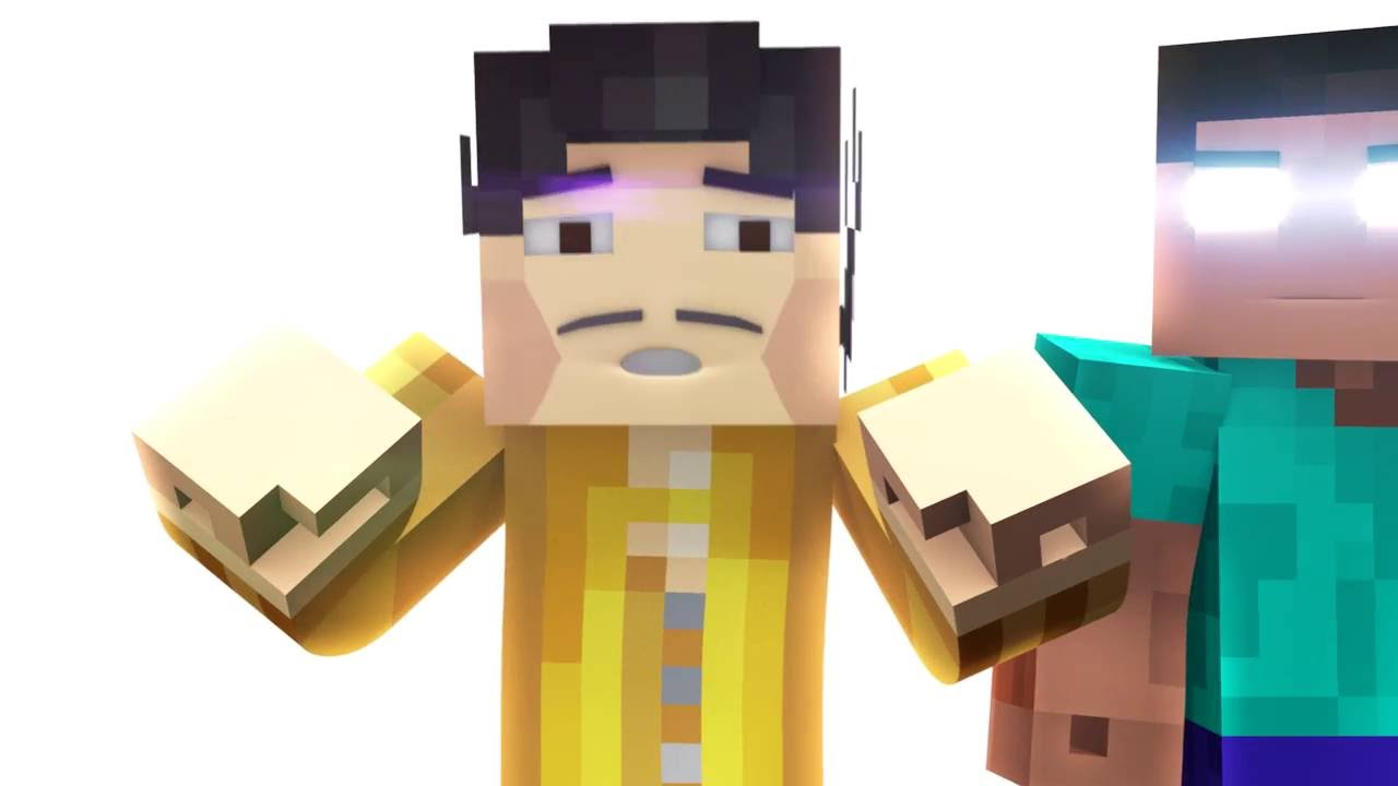 PPAP MINECRAFT PARODY - (Pen Pineapple Apple Pen Animation)