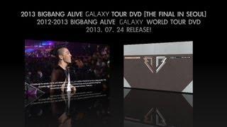 2012-2013 BIGBANG ALIVE GALAXY WORLD TOUR DVD Release Spot_Heaven