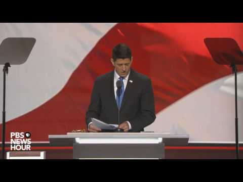 Paul Ryan announces final vote tally at 2016 Republican National Convention