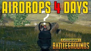 Hunting ALL Airdrops | PUBG