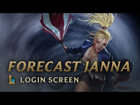 Forecast Janna - Login Screen