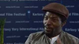 Isaach De Bankolé interview Limits of Control Karlovy Vary