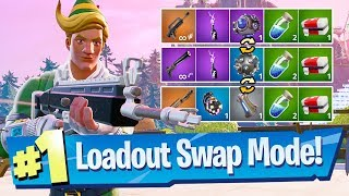 NEW Loadout Swap (Squads) LTM Gameplay - Fortnite Battle Royale