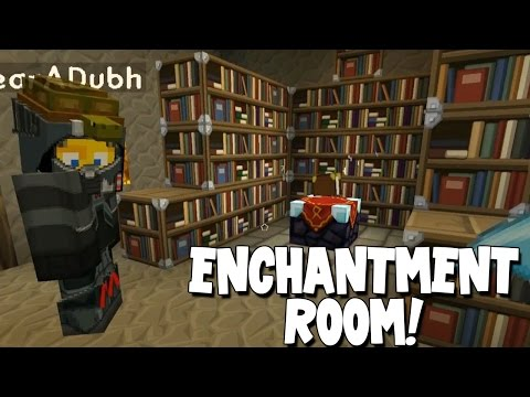 Minecraft - Mission To Mars - Enchantment Room! [16]