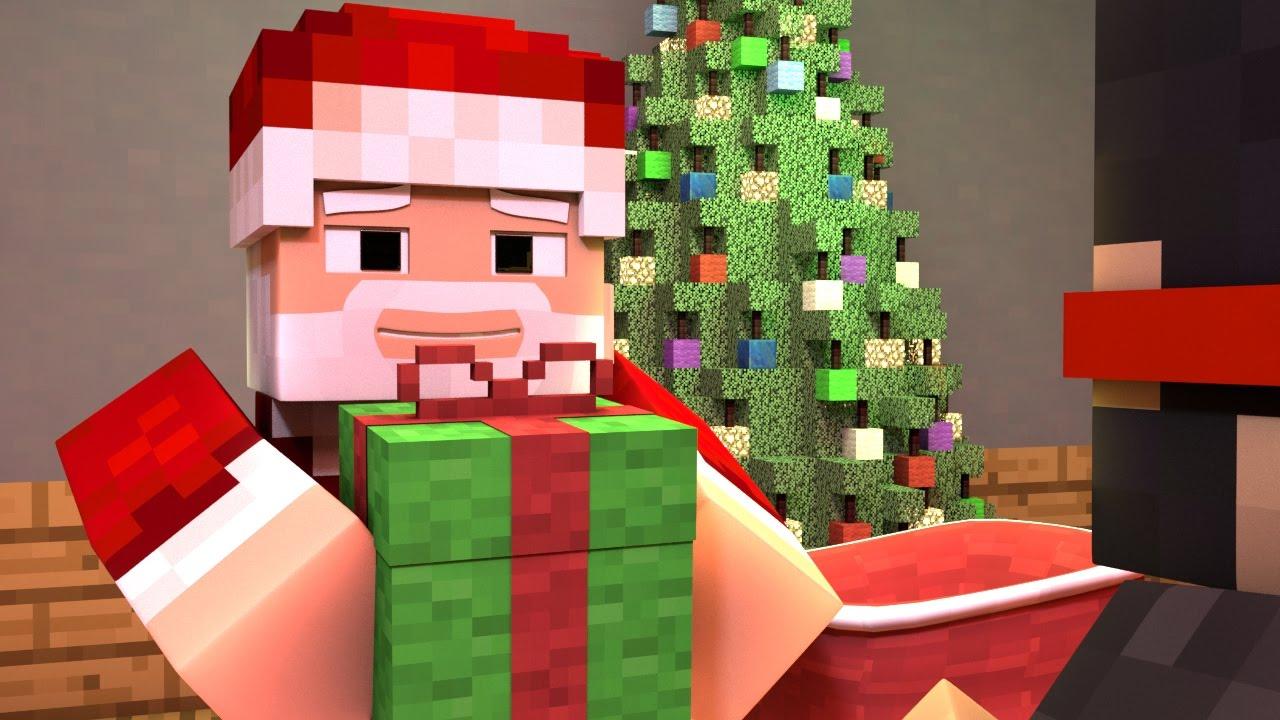 A VERY MINECRAFT CHRISTMAS - Part 1 (Minecraft Animation)