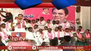 మాట తప్పడం కాంగ్రెస్ నైజం ..! Minister KTR Speech At Yellareddy Sabha | hmtv