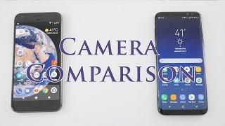 Samsung Galaxy S8+ Vs Google Pixel XL Camera Compared