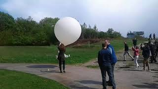 GRUAN 2018: Weather balloon lauched in Lindenberg Meteo Station